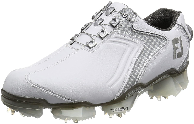 [フットジョイ] ゴルフシューズXPS-1Boa 56012J B01M0HEF8R 27.0 cm Wide ホワイト/シルバー