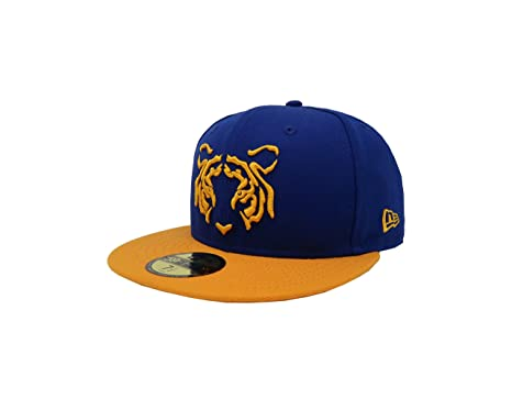 New Era 59Fifty Hat Tigres De Monterrey Soccer Club Liga MX Blue Gold  Headwear Cap 2fd6aa33c4d