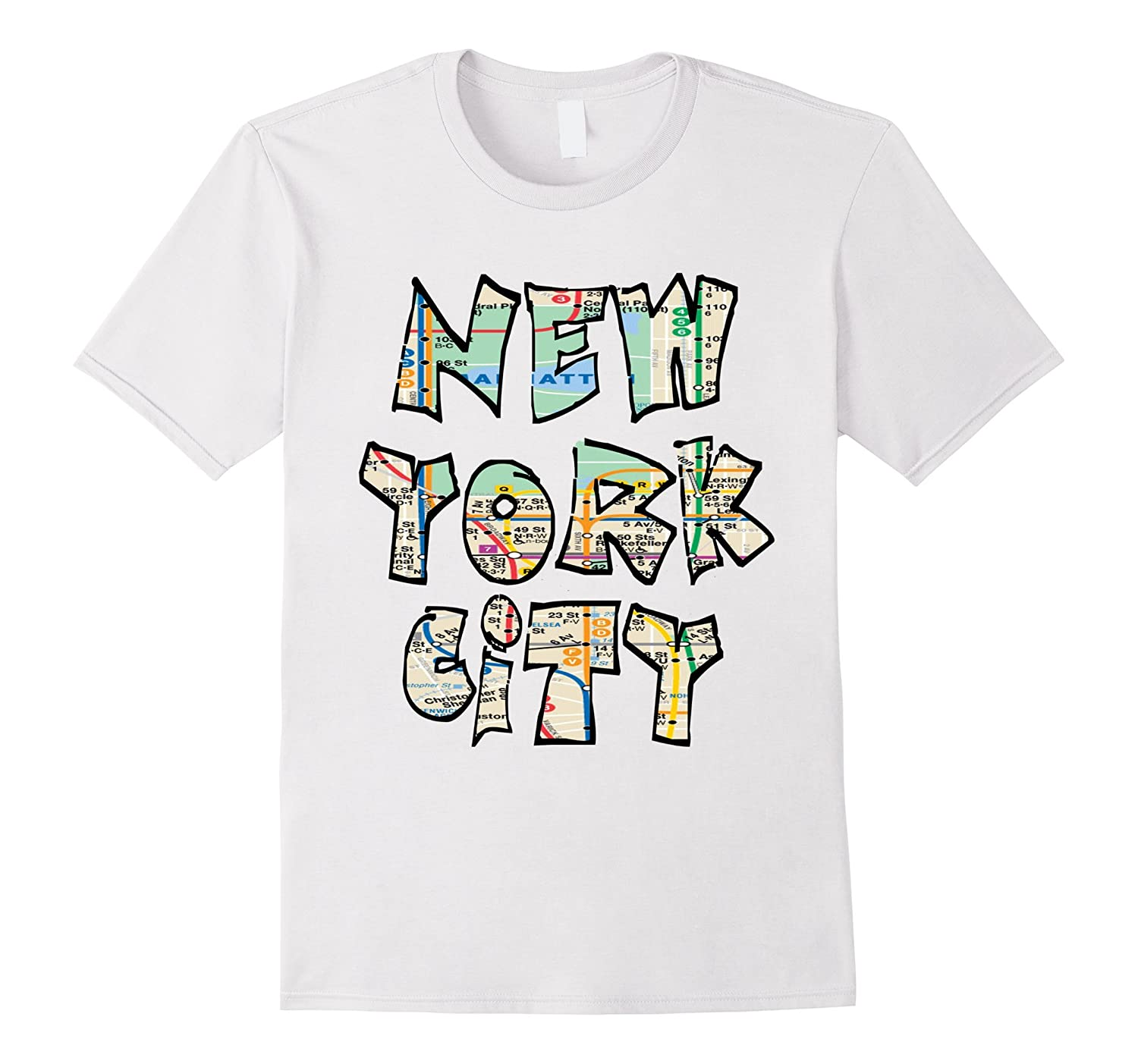 Nyc Subway Map T Shirt.New York City Nyc Ny Subway Map T Tee Shirt
