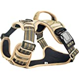 PremiPet No-Pull Dog Harness, Easy Control for Medium Large Dogs, Pet Vest with Vertical Handle Adjustable Reflective Straps