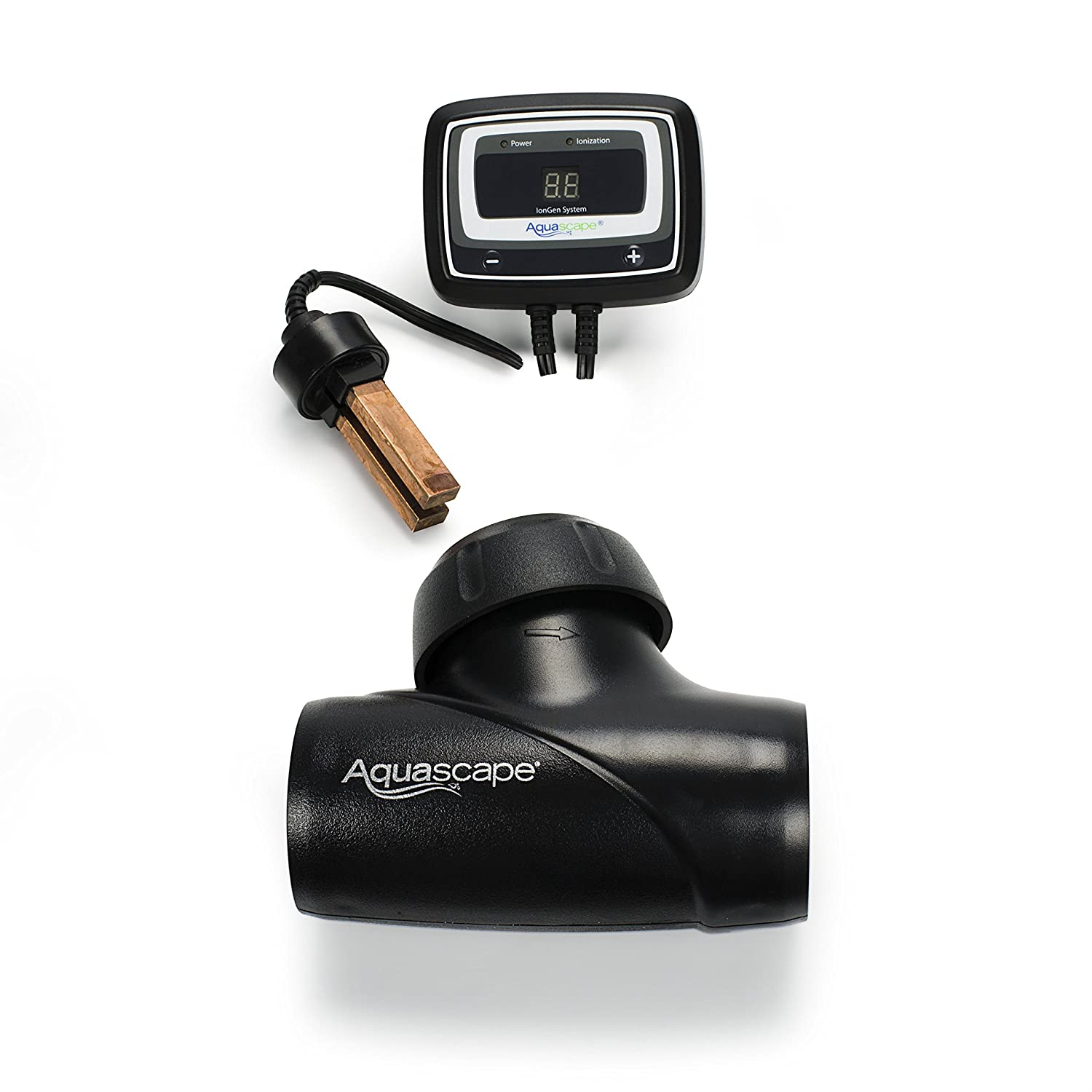 Aquascape IonGen System G2 Electronic Algae Controller for Pond, Garden, and Waterfall Features | 95027