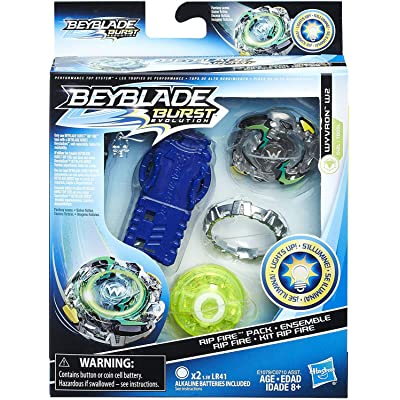 Beyblade Burst Evolution Rip Fire Starter Pack Wyvron W2: Toys & Games