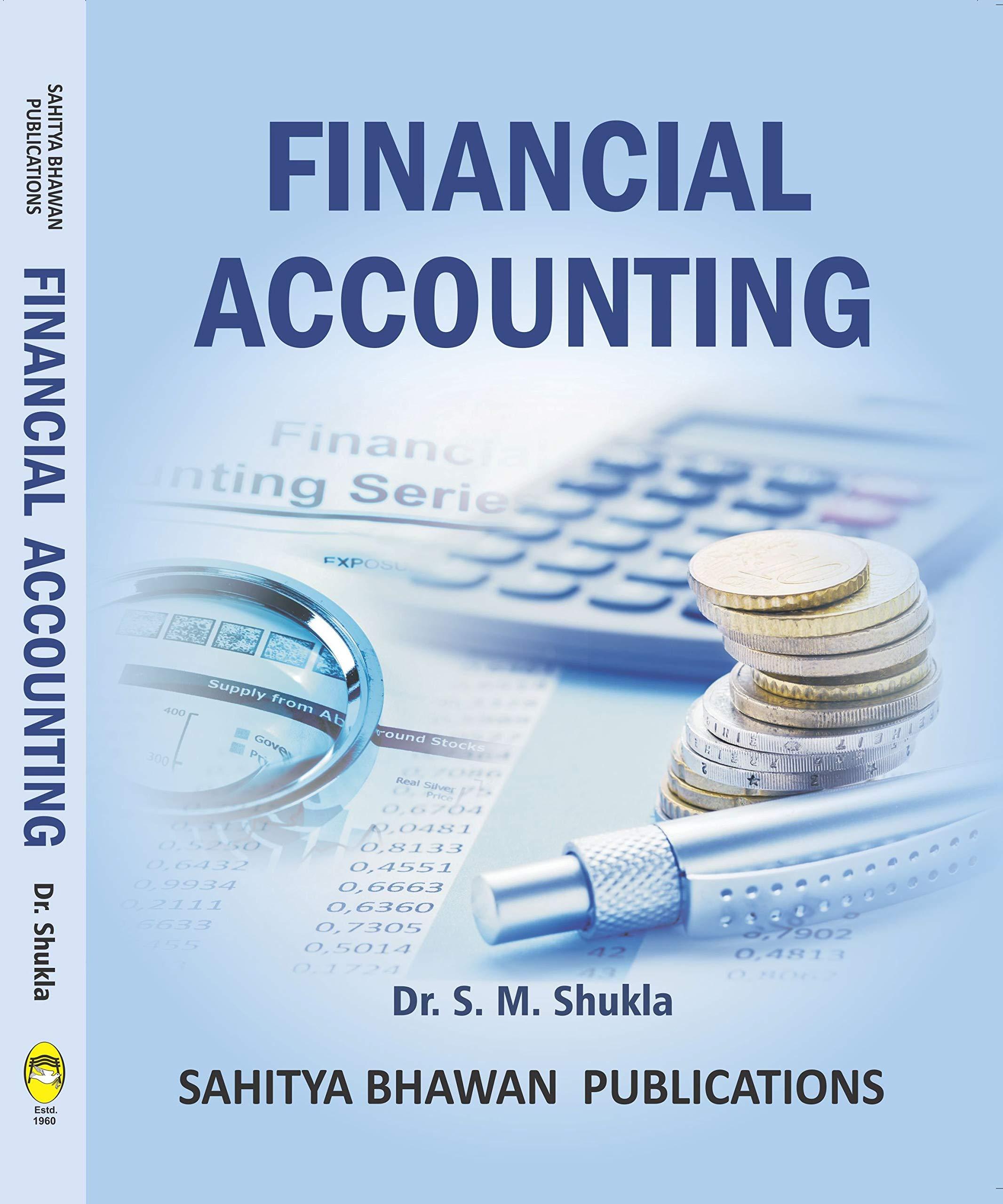 Financial Accounting B.Com First Year CCS University Meerut New syllabus Academic Year 2019-20