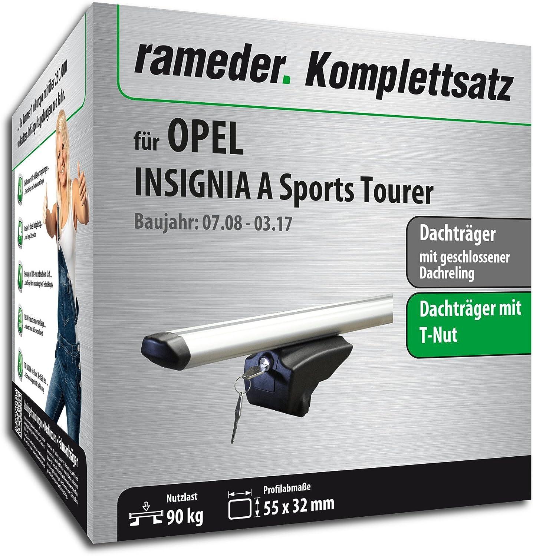 111287-07861-20 Rameder Komplettsatz Dachtr/äger Pick-Up f/ür OPEL Insignia A Sports Tourer
