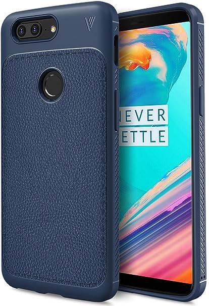 Funda OnePlus 5T, KuGi anti-rasca la Carcasa del teléfono TPU del de la imitación ninguna Case del teléfono móvil caja del teléfono Cover para OnePlus ...