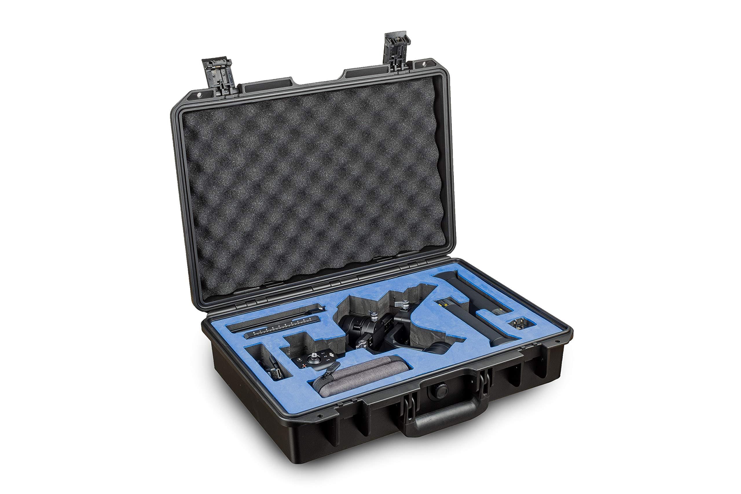 Ultimaxx Waterproof Hard Case with Custom Foam Insert for DJI Ronin S Gimbal Stabilizer System by Ultimaxx
