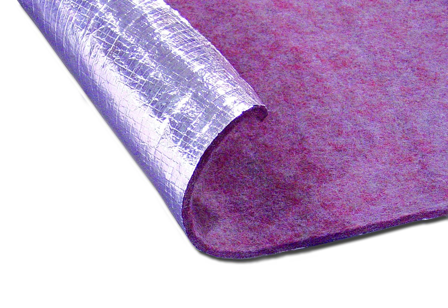 Thermo-Tec 14120 48'' X 72'' One Sided Thermo Guard Flame Retardant