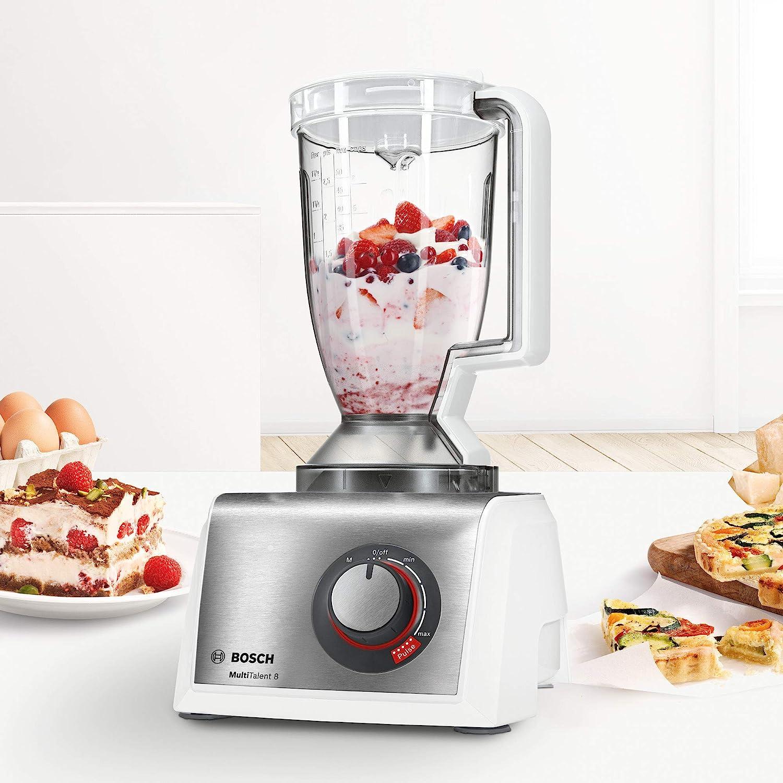 Bosch MC812S814 MultiTalent Kompakt-Küchenmaschine mit Mixer