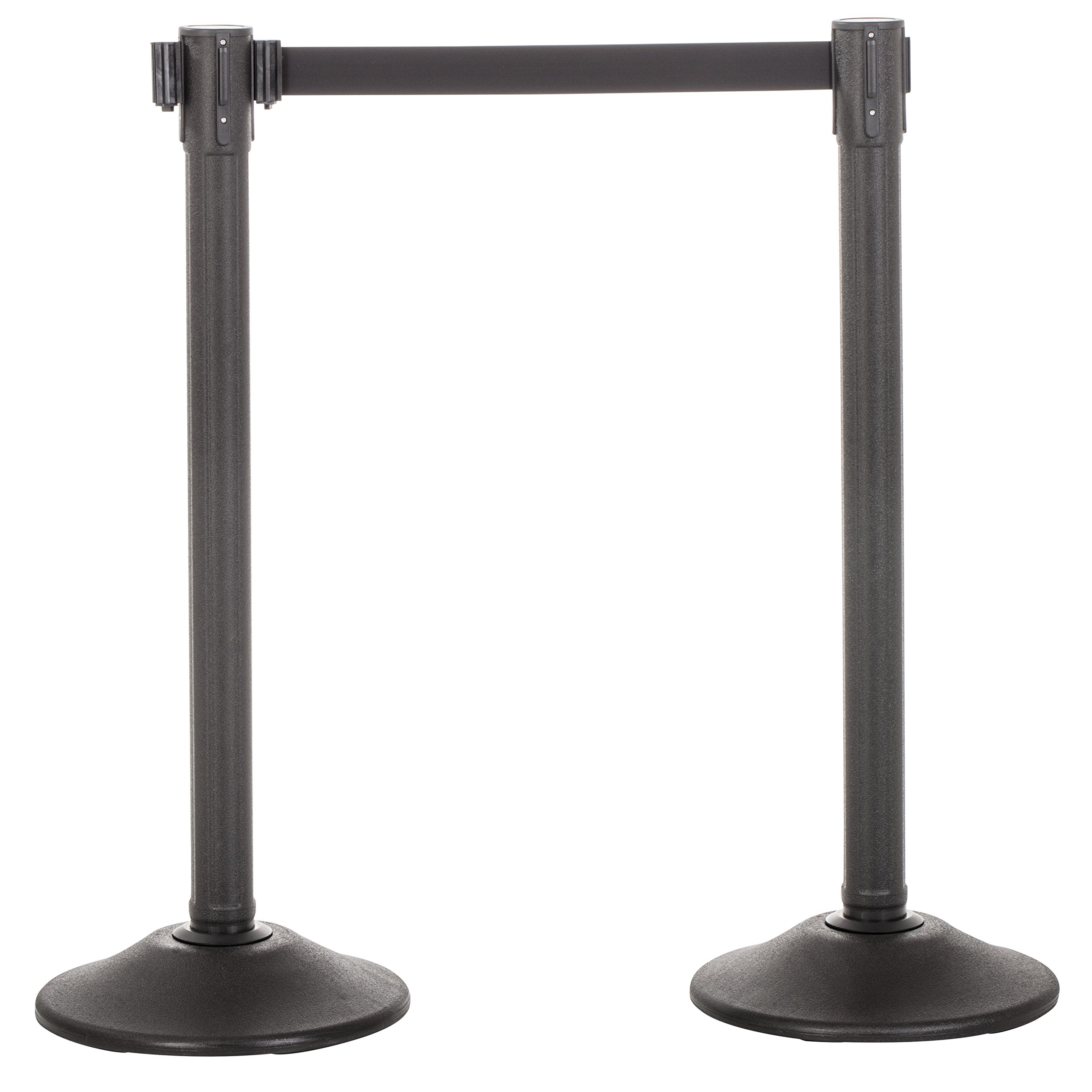 US Weight Sentry QuikSecure Stanchion with Retractable Belt (2-Pack)