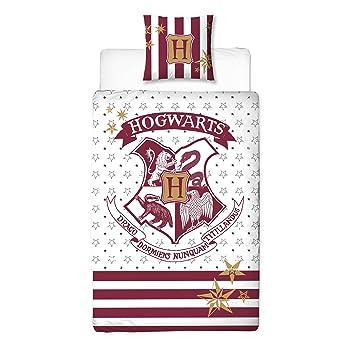 Harry Potter Wende Bettwäsche Hogwarts Wappen 2tlg 80x80cm 135x200cm