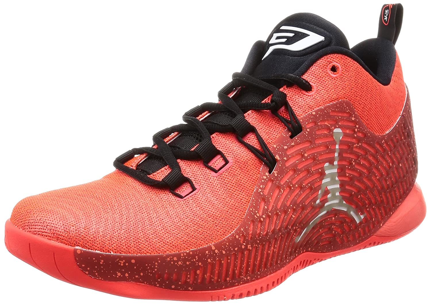 detailed look 2ed1e 1341c Amazon.com   Jordan Mens CP3.X Black Bright Mango Size 12   Shoes