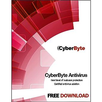 Amazon com: CyberByte Antivirus - Best Mac Antivirus to Remove