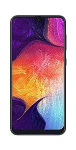 Samsung Galaxy A50 (Black, 6GB RAM, 64GB Storage) with No...
