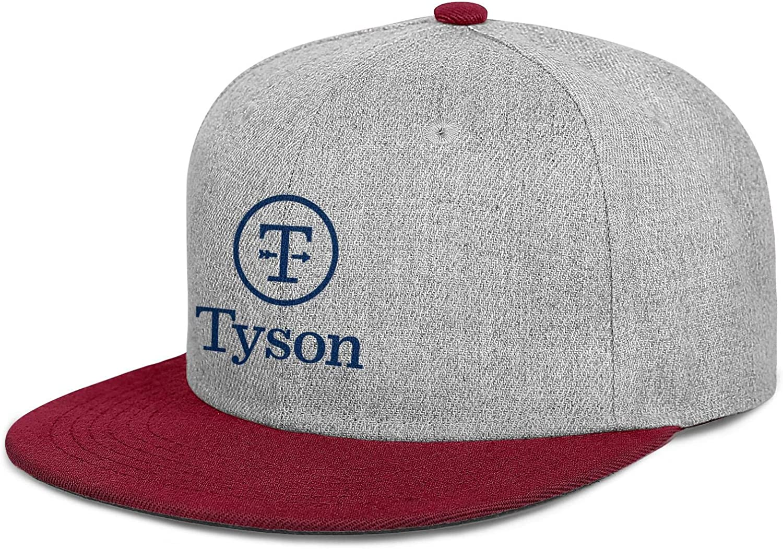 QWQD Tyson Foods Men's Women Wool Golf Cap Adjustable Snapback Beach Hat