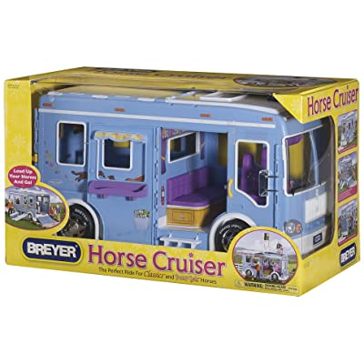Breyer Classic Horse Cruiser Vehicle Blue: Toys & Games