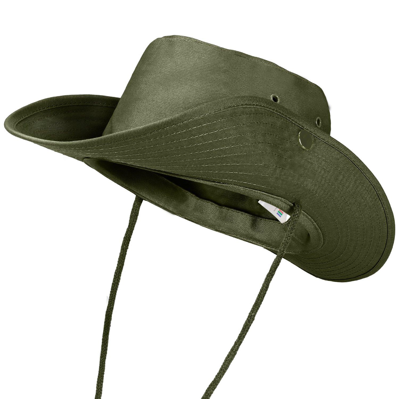 noorsk Outdoor Chapeau de Brousse avec Boutons-Pression