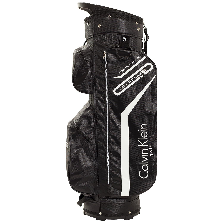 Mochila de golf unisex de Calvin Klein, divisor de 14 compartimentos, color Charcoal-Lime, tamaño talla única: Amazon.es: Deportes y aire libre