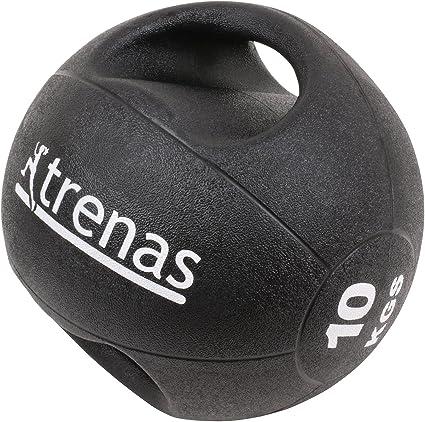 trenas Pro Balón Medicinal con Asas – 10 kg: Amazon.es: Deportes y ...