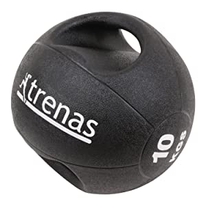 185c9af79 TRENAS Professional Double Handle Medicine Ball PRO - 3 kg - 4 kg - 5 kg