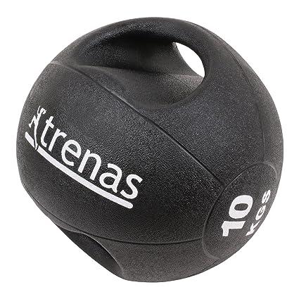 trenas Pro Balón Medicinal con Asas - 10 kg: Amazon.es: Deportes y ...