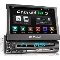XOMAX XM-VA774 autoradio met Android 10, QuadCore, 2GB RAM, 32GB ROM, GPS-navigatie I Support: WiFi WLAN, 3G 4G, DAB…