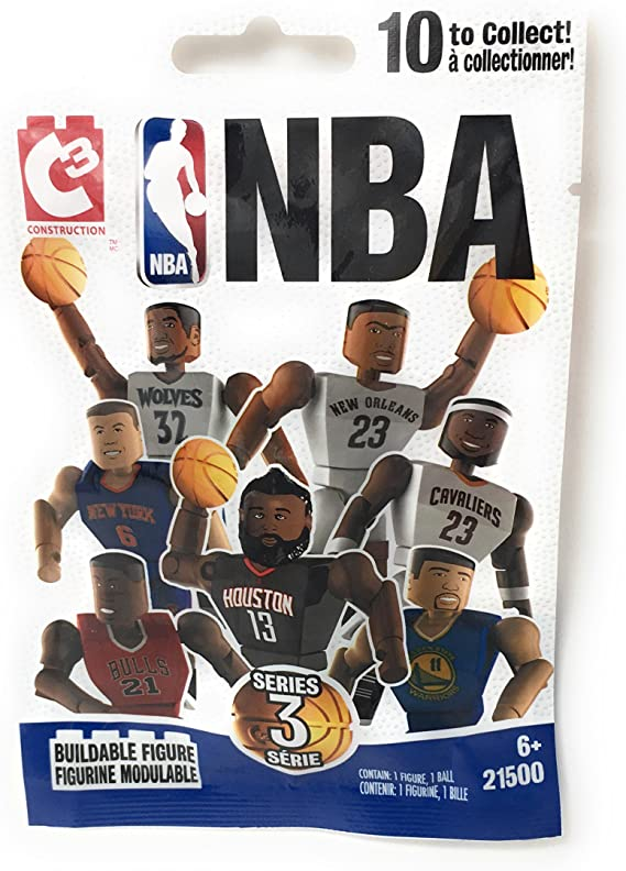 C3 Bridge Direct NBA 1 Buildable Figure Blind Bag (Series 3)
