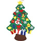 Woods World Wall Hanging Christmas Tree Set with Ornaments