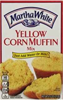 Martha White Yellow Corn Muffin Mix, 7.5 Ounce