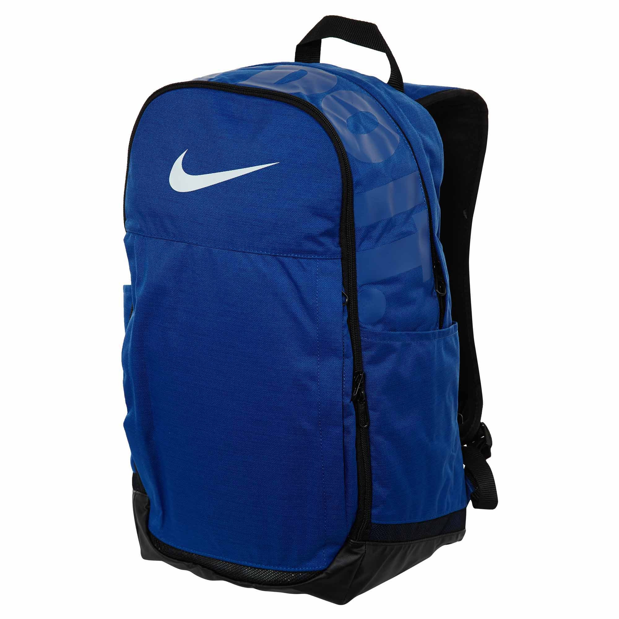 Galleon - Nike Brasilia (Extra-Large) Blue Black Training Backpack b20ca3e45f6f9