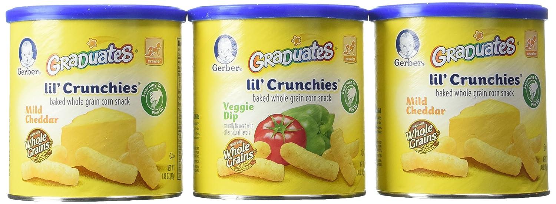 Gerber Graduates Lil Crunchies - 6 pk.