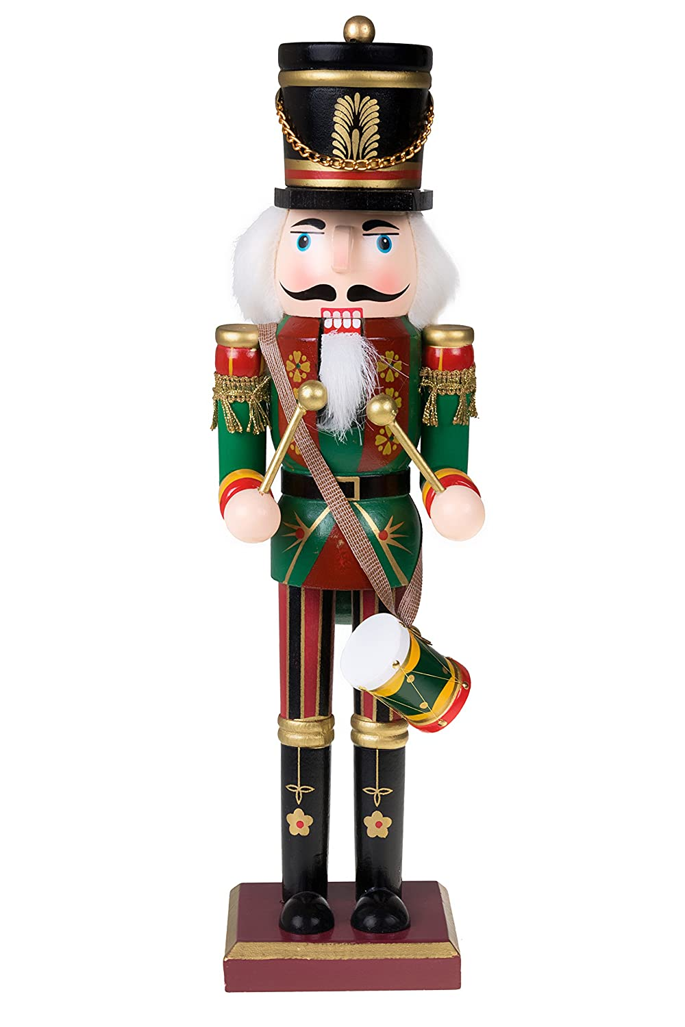 Amazon.com: Traditional Drummer Soldier Nutcracker by Clever ...