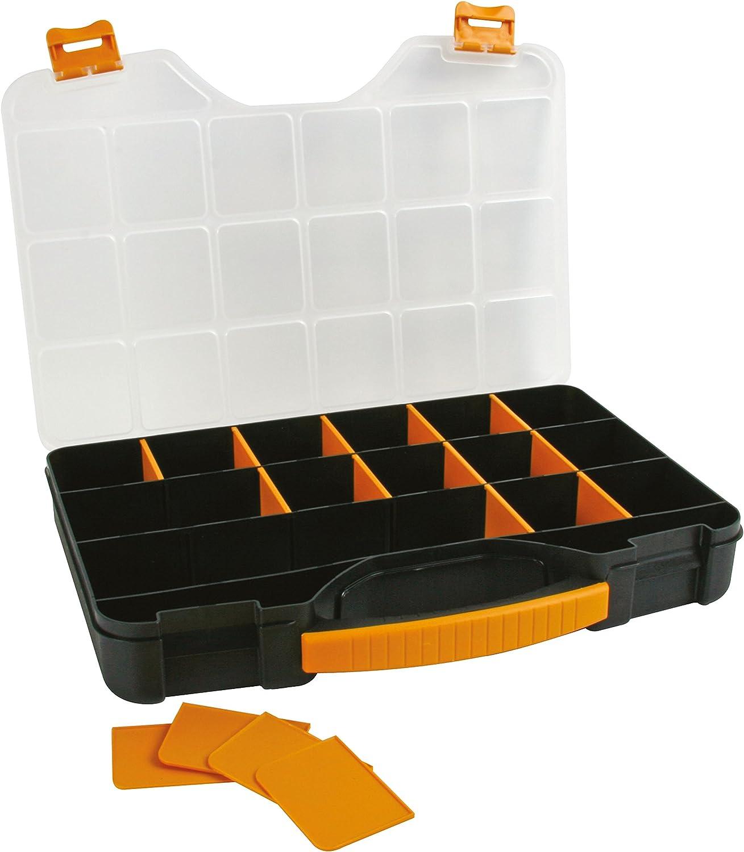 Perel OMR13 Boîte de rangement//organisateur 326x257x48 mm