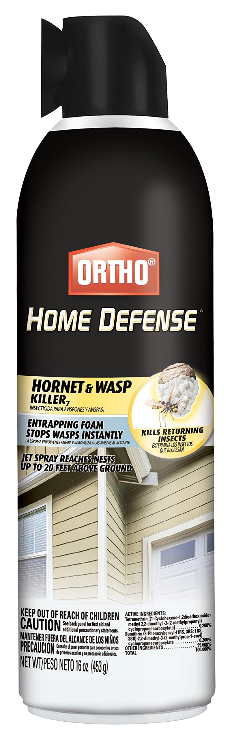 Ortho Home Defense Hornet & Wasp Killer Aerosol 16 oz by Ortho