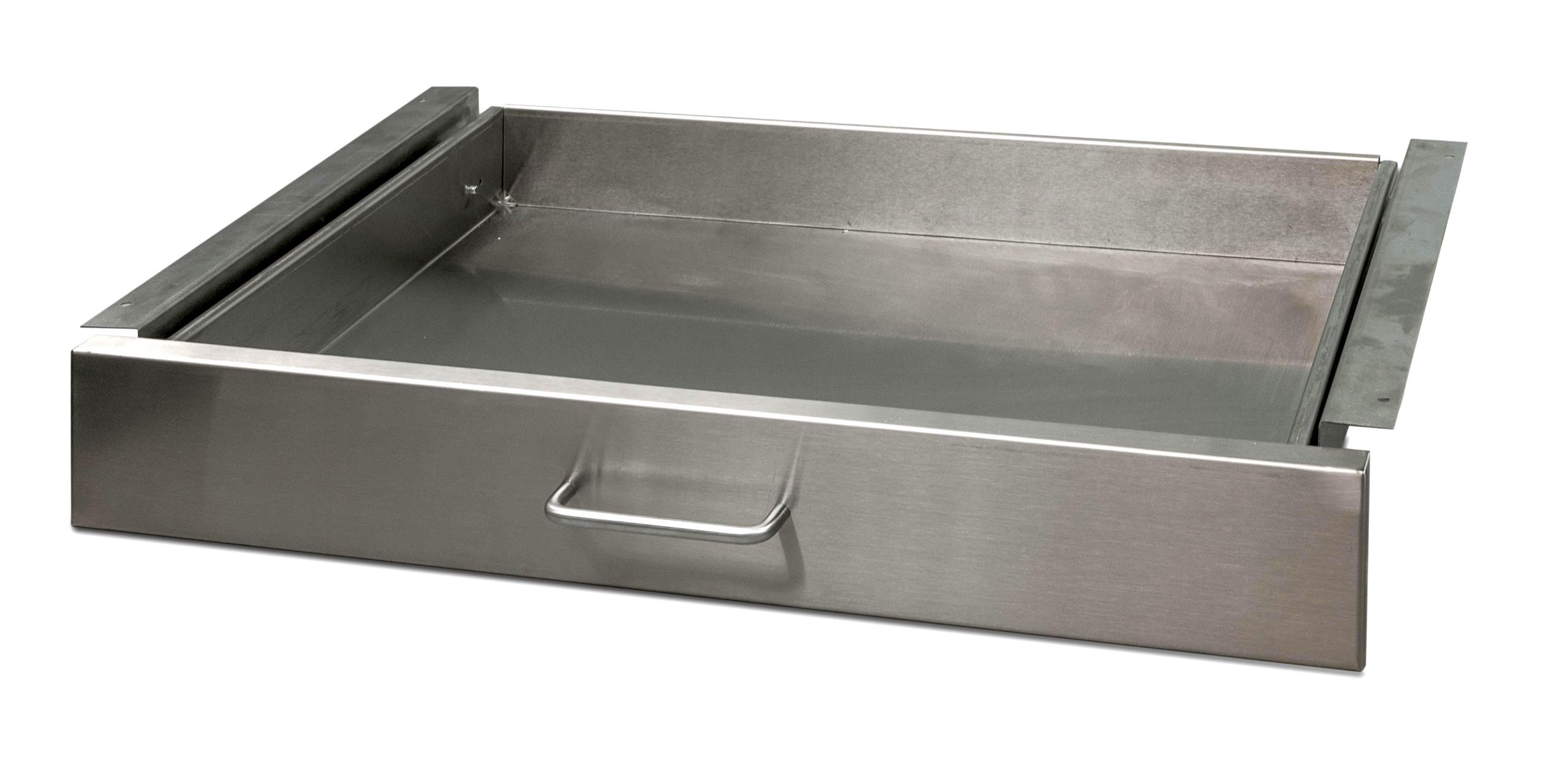 Danver Stainless Steel Kitchen Cart Drawer, 27-Inch