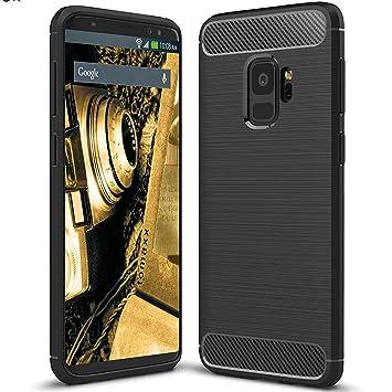 tomaxx - Samsung Galaxy A6 Plus 2018 A6 + Carcasa Funda ...