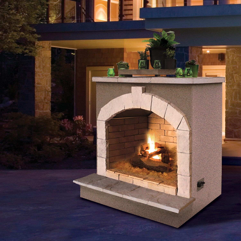 amazon com cal flame fire frp 906 55 000 btu gas outdoor