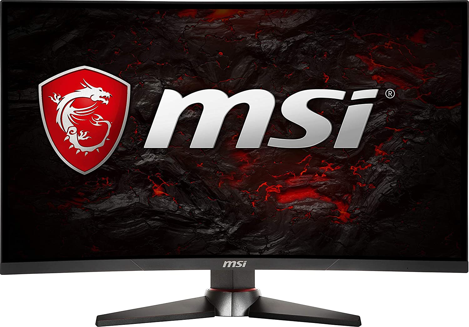 "MSI Full HD Non-Glare 1ms 1920 x 1080 144Hz Refresh Rate USB/DP/HDMI FreeSync 24""Gaming Curved Monitor (Optix MAG240CR) - Black"