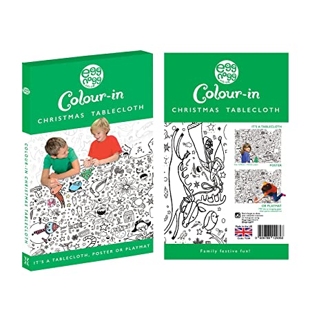 amazoncom colour in tablecloth christmas tc04 toys games
