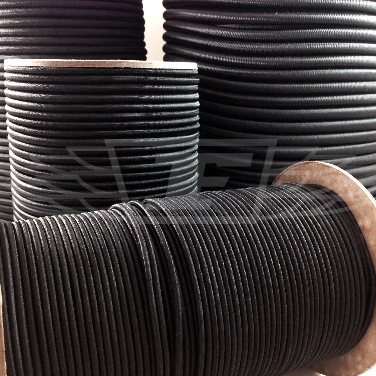 5mm x 10 METERS, BLACK STRONG ELASTIC BUNGEE ROPE SHOCK CORD TIE DOWN FREE POST Falcon Workshop Supplies Ltd