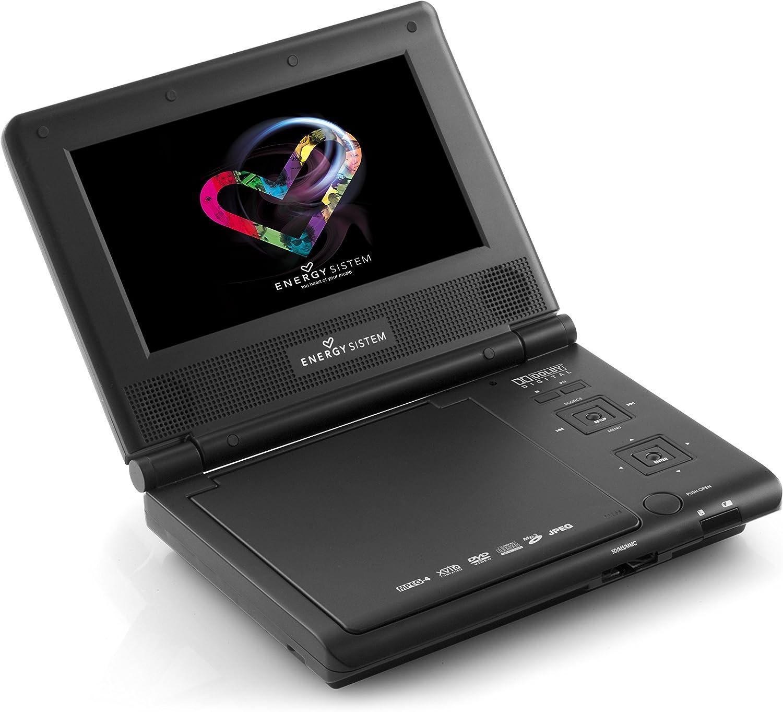Energy Sistem M2400 - Reproductor de DVD portátil: Amazon.es: Electrónica
