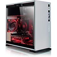 CybertronPC CLX Set Gaming PC - AMD Ryzen 5 1600 3.20GHz 6-Core, 16GB DDR4, NVIDIA GTX 1060 6GB Video, 120GB SSD + 1TB HDD, Win 10 Home 64-bit, White