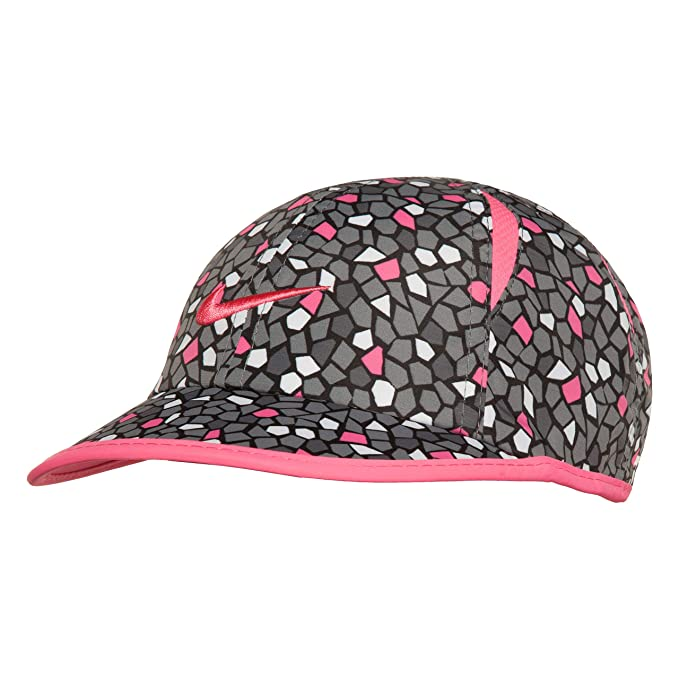 9ff34605b78042 Amazon.com: NIKE Children's Apparel Kids' Little Printed Dri Fit Basball Hat,  Pink Power/Cool Grey O/S: Clothing