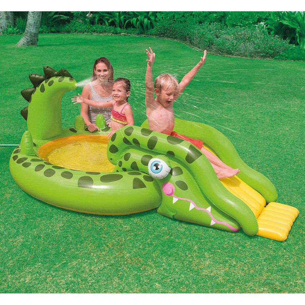 amazon com intex gator inflatable play center 99