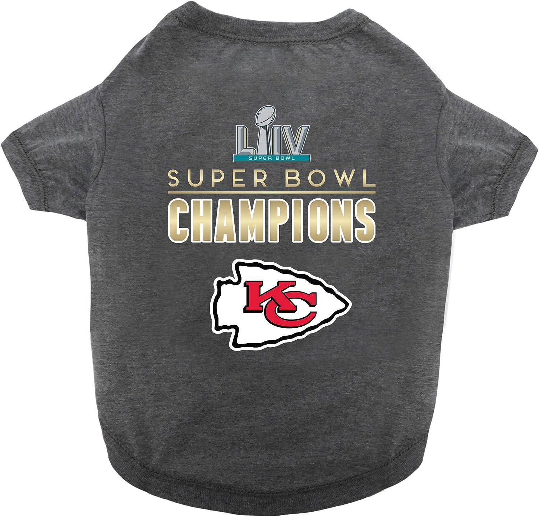 Medium Littlearth NFL Kansas City Chiefs Pet T-Shirt