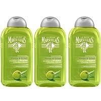 Le Petit Marseillais - Shampooing Cheveux Normaux Pomme Olivier - Flacon 250 ml - Lot de 3