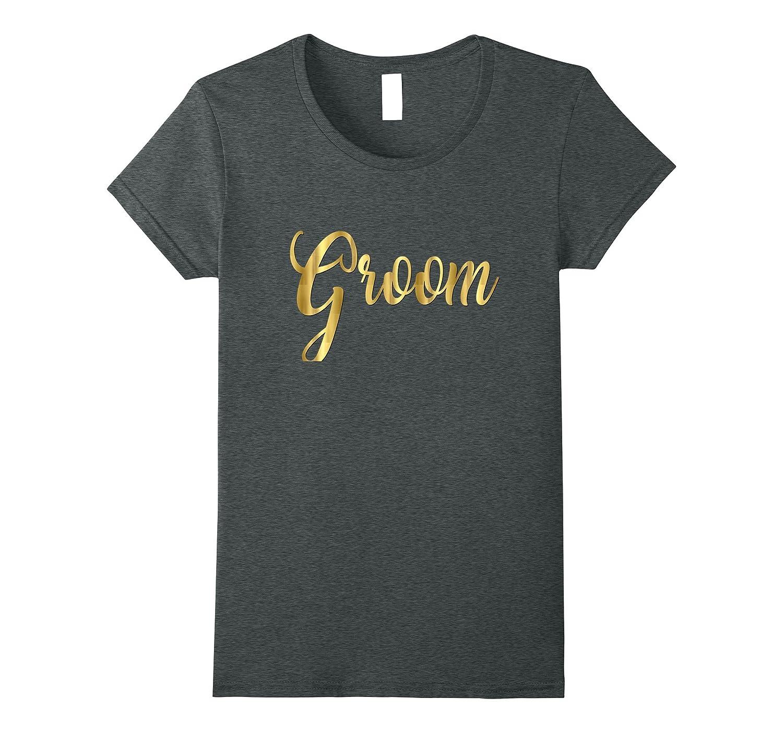 Groom Shirt Gold Wedding Matching