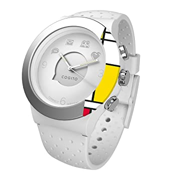 Cogito FIT - Smartwatch con Bluetooth, color blanco y gris ...