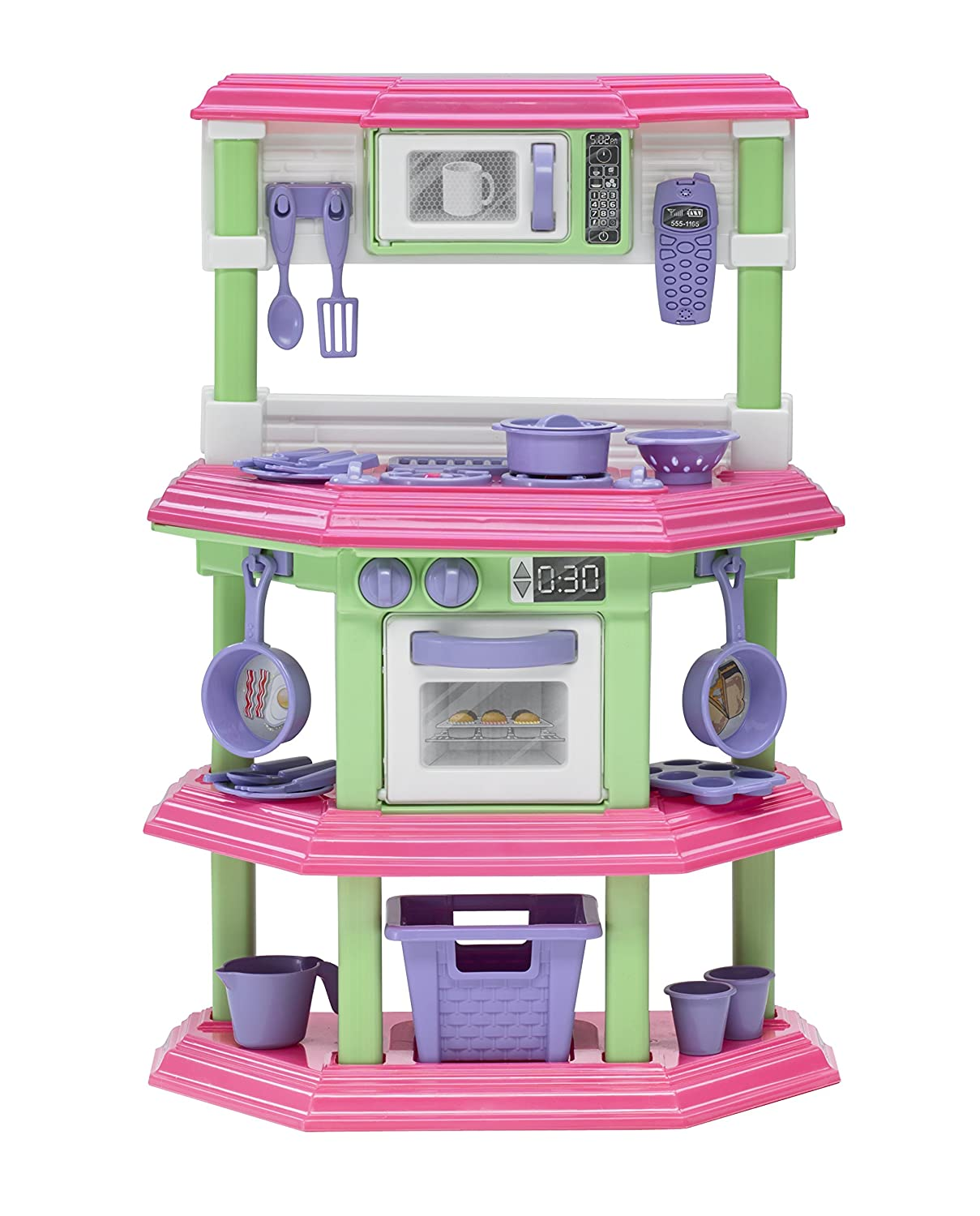 Amazon.com: American Plastic Toys My Very Own Sweet Treat Kitchen Set: Toys  U0026 Games