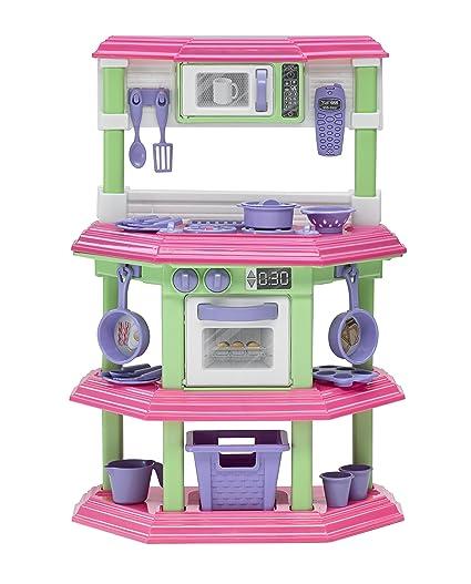 Amazon american plastic toys my very own sweet treat kitchen american plastic toys my very own sweet treat kitchen set teraionfo