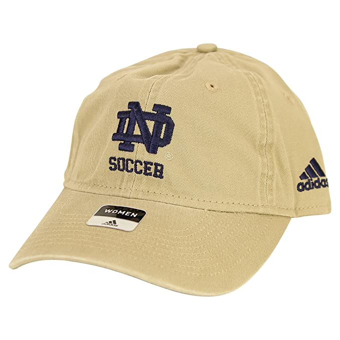 e385a8a3f780b Amazon.com: adidas Women's Notre Dame Fighting Irish Soccer Slouch Style  Baseball Hat (Gold): Sports & Outdoors